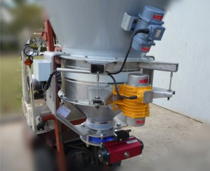 Vibratory volumetric feeder setup