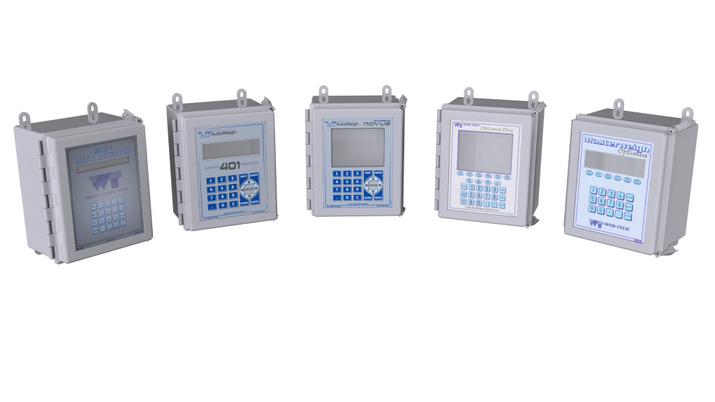 electronic integrators and weight indicators