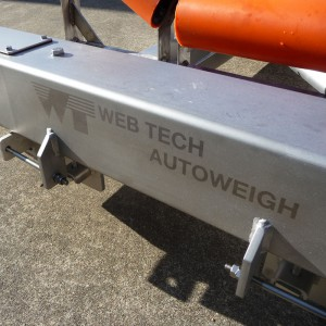 Web Tech Autoweigh belt weigher