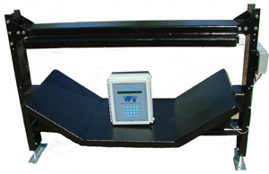 Metal detector and electronic controller combination