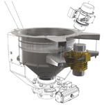 Volumetric Feeders-vibratory and belt type